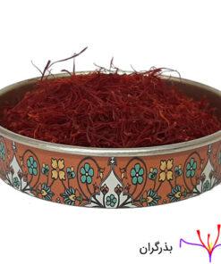 خرید زعفران سرگل نیم مثقالی